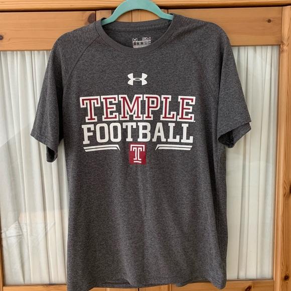 wholesale dealer ce368 4dab5 Under Armour Men's Temple University T-Shirt